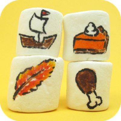 how to draw on food: Thanksgiving. And, how to keep kids busy. | The Decorated Cookie