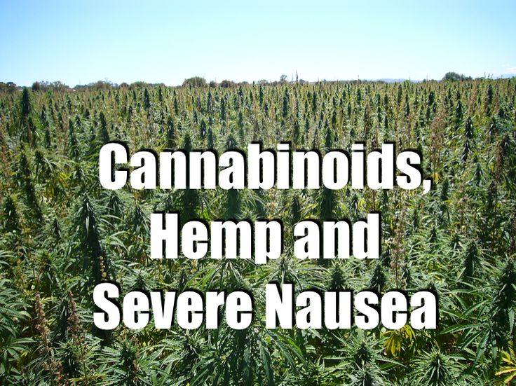Nausea can be caused by many things: physical illness, pharmaceutical drugs, too much alcohol or psychological stimuli. But how can hemp and cannabinoids work to treat nausea and vomiting?
