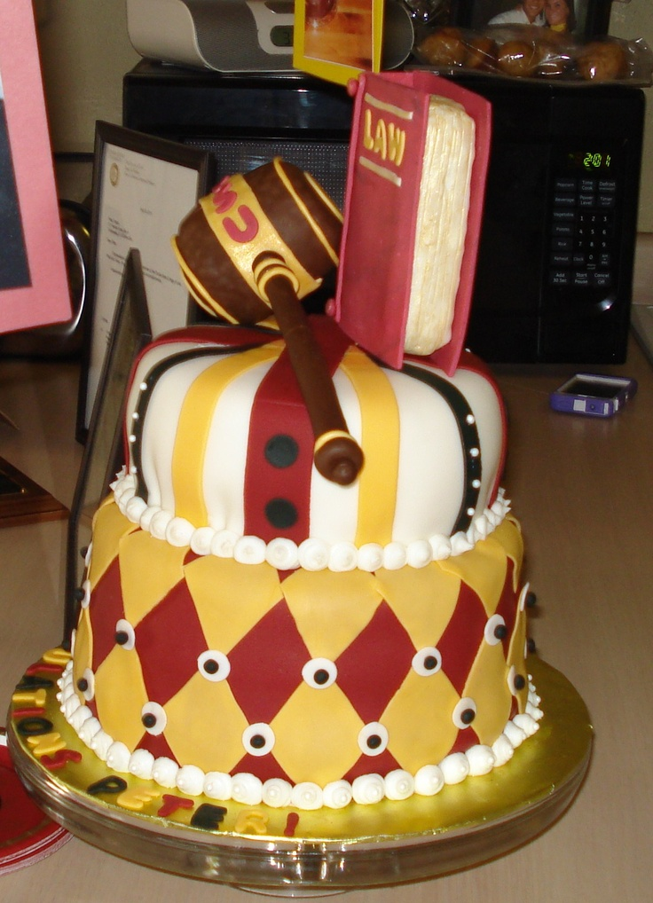 Fsu Law School Grad Cake Cakes Pinterest Law School
