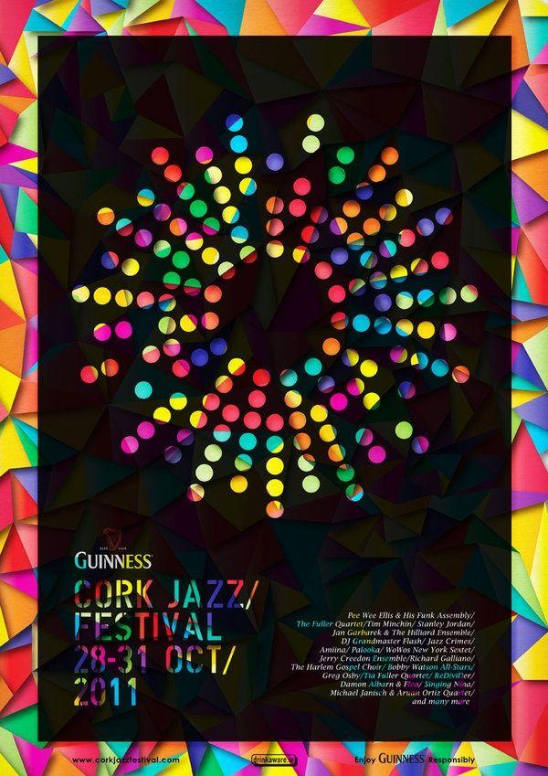 Cork Jazz Festival Posters - Basia Kozlik