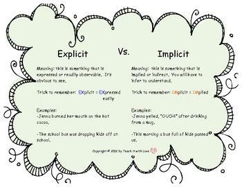 Explicit and implicit methods