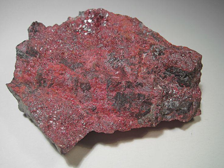 Cinabrio (Sufuro de Mercurio. Muy pesado)