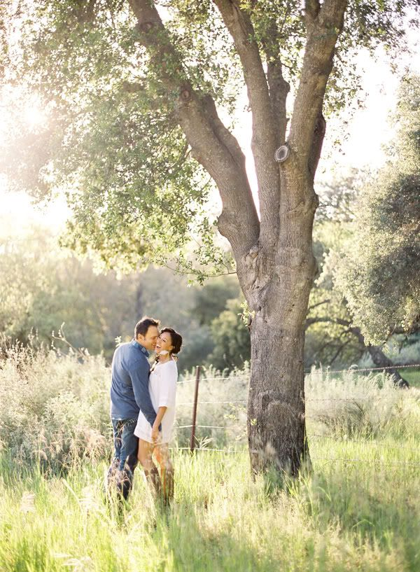 PRE-WEDDING FAB: Tamera Mowry & Fiancé Adam Housley Get FABULOUSLY ROMANTIC For Engagement Shoot | The Young, Black, and Fabulous