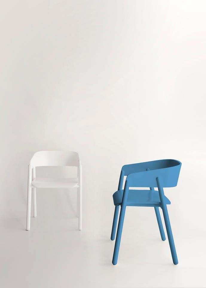 The MAVA chairs by Stephanie Jasny for PUNT MOBLES