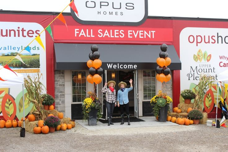 Our Fall Sales Event - October 2013.