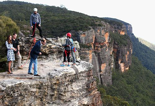 Most memorable moments from the Royal Tour - Blue Mountains