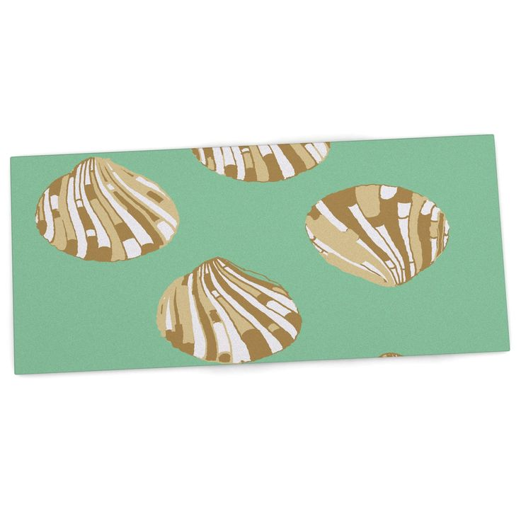 "Rosie Brown ""Scallop Shells"" Desk Mat"