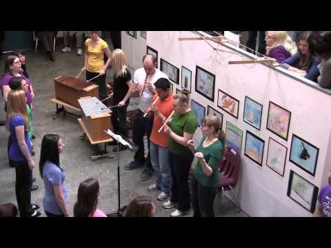 Waldorf ~ High School ~ Music ~ Performance: Land of the Silver Birch and My Paddle