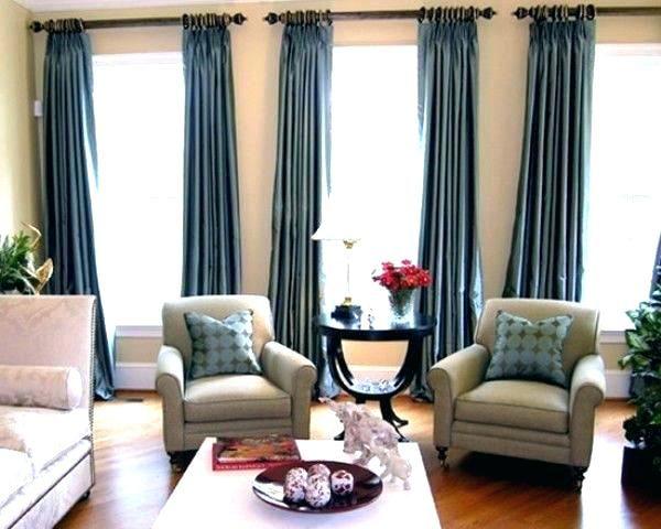 3 Windows Curtain Ideas