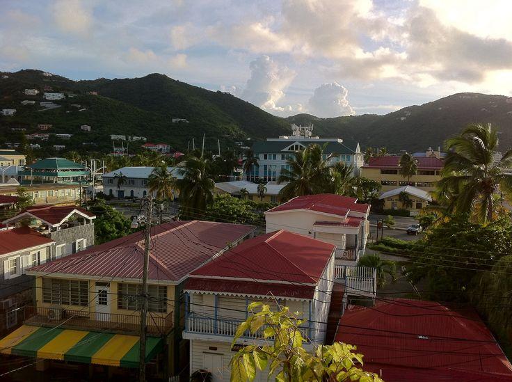 British Virgin Islands Roads