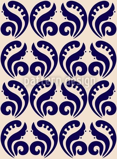 Decorative Scandinavian style Pattern, designed by Yenty Jap    High-quality Vector Pattern from patterndesigns.com