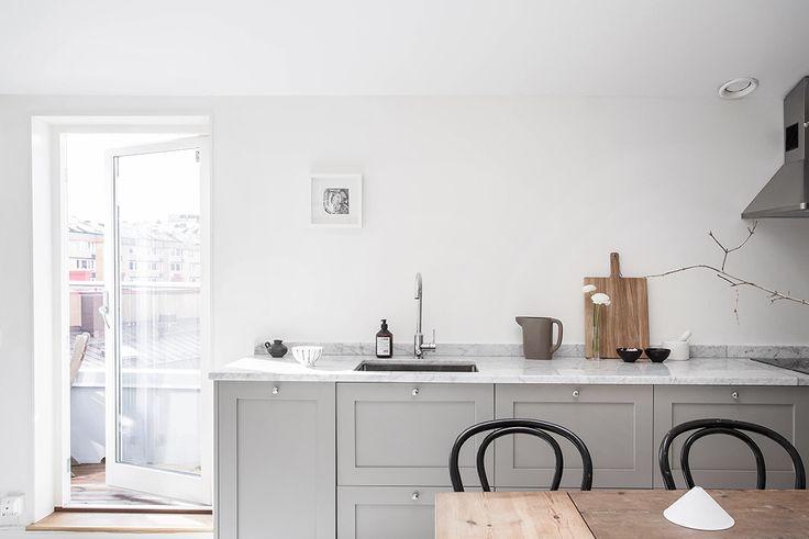 Helt nytt kök med Picky Livingluckor
