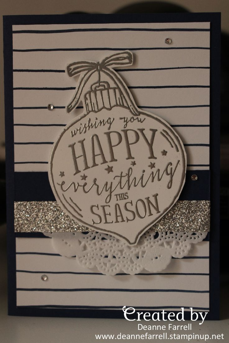 Stampin' Up! Happy Everything Christmas Card