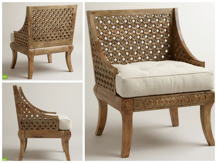 New Spring Nomad Collection Featuring Cost Plus World Marketu0027s Tribal  Carved Chair U003eu003e #WorldMarket