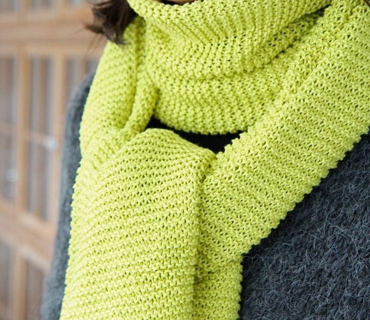 les tricots de Granny: écharpe