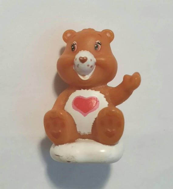 Check out this item in my Etsy shop https://www.etsy.com/ca/listing/576621246/rare-early-80s-tenderheart-care-bear