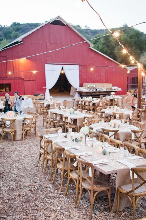 rustic barn wedding venue idea for fall country weddings