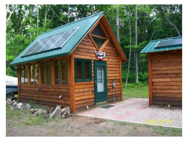 Self-Contained, Off-Grid Cabin
