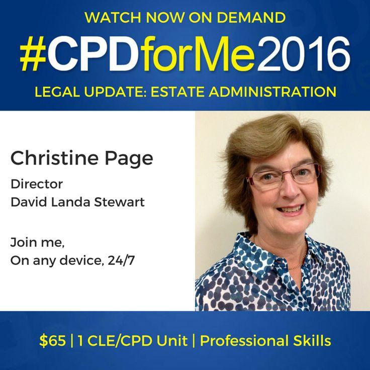 $65 Legal Update #Auslaw Watch #CPD Now - Estate Administration http://bit.ly/CPD-EstateAdmin @CPDforMe 1 unit