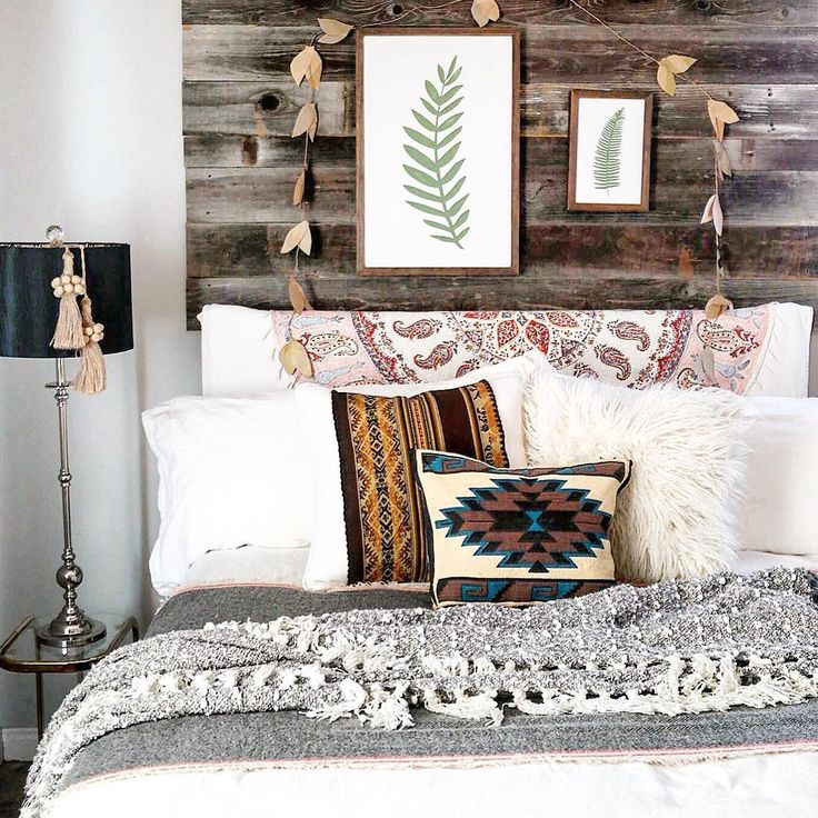 25 Bedroom Design Ideas For Your Home: Bed Cover Inspiration, Tribal Bedding And Neutral