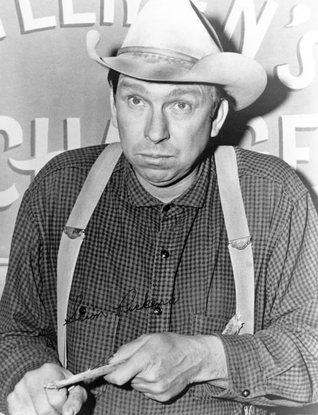 Slim PickensA Western character actor not to be forgotten, Pickens was in everything.