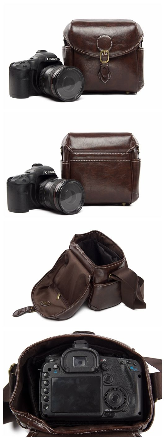 PU LEATHER DSLR CAMERA BAG SLR CAMERA CASE PU02