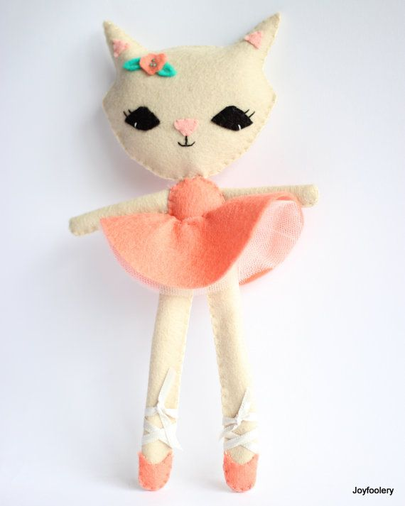 Ballerina Cat Doll
