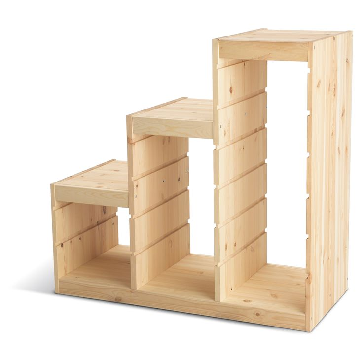 Trofast frame pine 99 article number several grooves so you can place boxes or - Toy shelves ikea ...