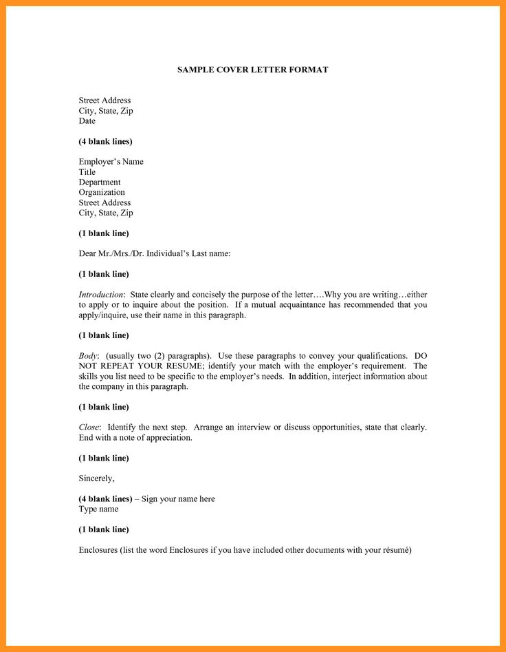 application letter format sample youngster departments cover - how to end a resume