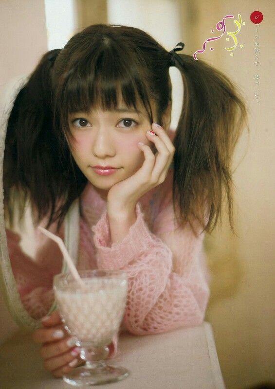 """AKB48 Haruka Shimazaki """"Paruru no Utatane"""" on Young Magazine"""