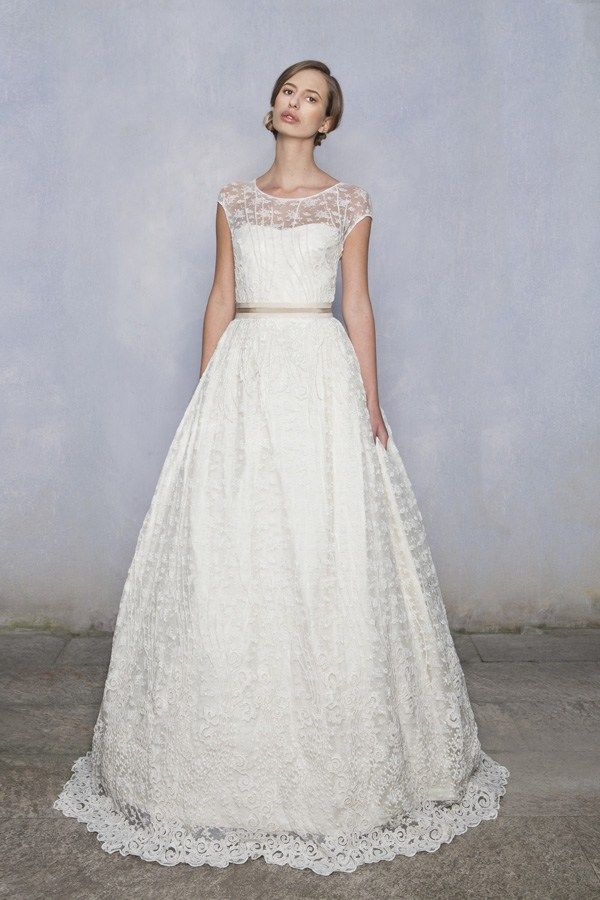 Luisa Beccaria Wedding Dresses 2014 collection: