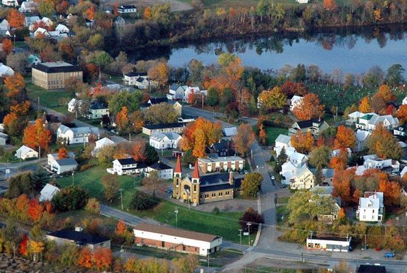 Woodstock Ontario from the air