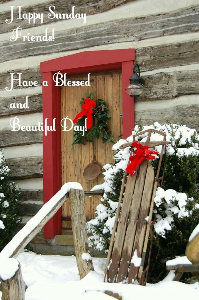 Sunday Christmas Blessings Greetings