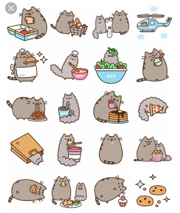 Картинки для лд срисовки котики