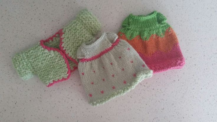 little cotton rabbits outfits wrapped for Christmas - 4