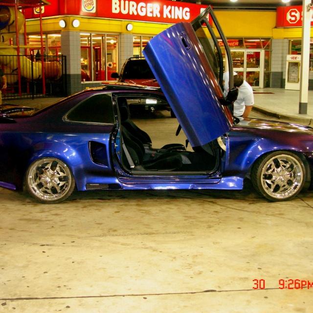 Honda Prelude SH 2001 !! Custom paint , Custom Body Kit