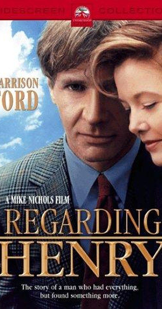 Directed by Mike Nichols.  With Harrison Ford, Annette Bening, Michael Haley, Stanley Swerdlow. Henry is a lawyer who survives a shooting only to find he cannot remember anything. If that weren't enough, Henry also has to recover his speech and mobility, in a life he no longer fits into. Fortunately, Henry has a loving wife and daughter to help him.