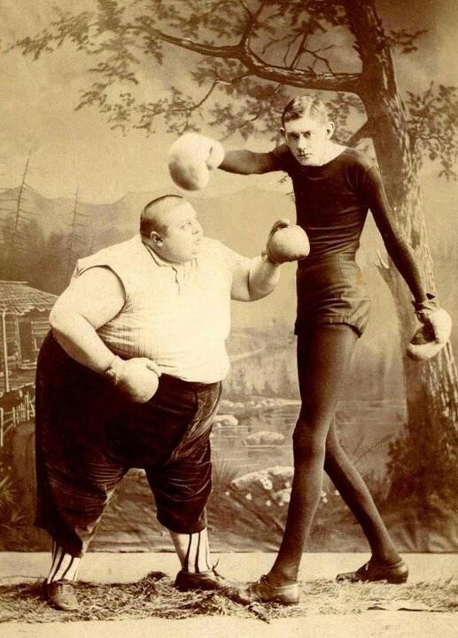 Vintage boxing