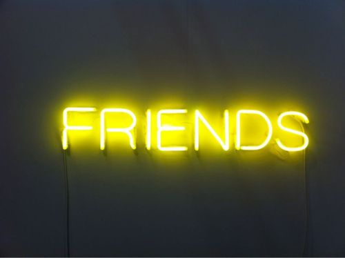 #fluorescent #yellow #friends...how many of us have them?