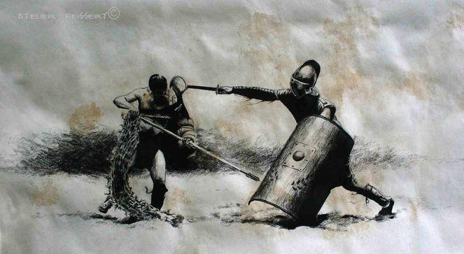 die Gladiatoren 001 - Peter Beißert