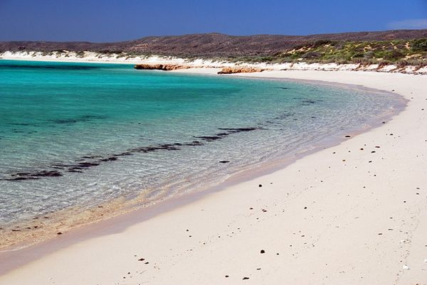 The most beautiful, unspoilt place in Australia. Awesome!! Turquoise Bay, WA.