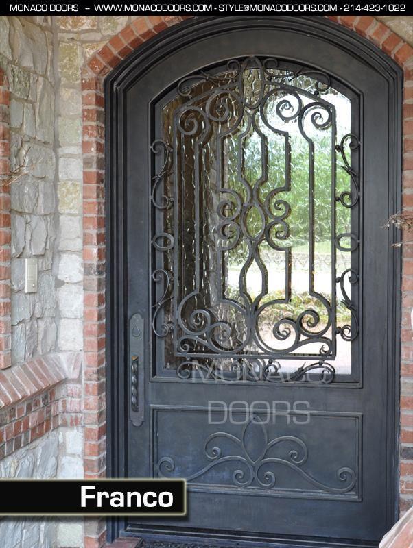 Best 20 iron front door ideas on pinterest iron doors - Interior decorative wrought iron gates ...