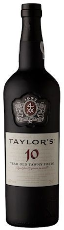 Taylor's 10 Years Old Tawny. Gamme actuelle.