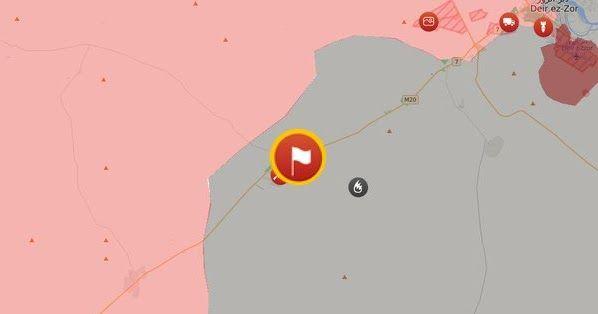 Deir Ezzor/ O συριακός στρατός προελαύνει για να σπάσει την πολιορκία του στρατιωτικού αεροδρομίου.