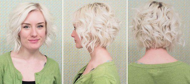 Flat iron hair styles