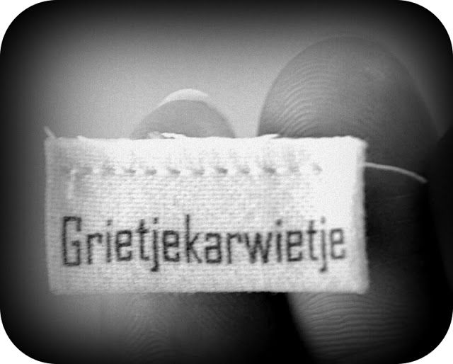 Grietjekarwietje: Zelf labels maken (wasbaar)