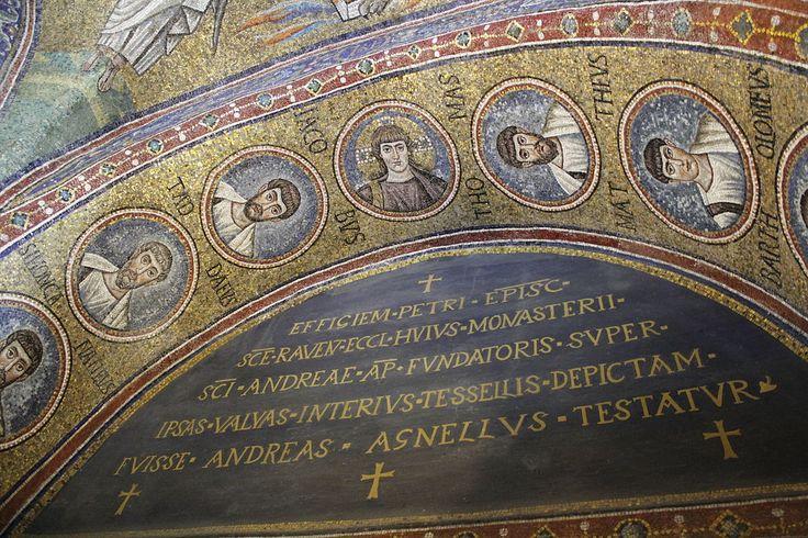 Cappella del Palazzo Arcivescovile, Ravenna. Mosaici della fine del V - inizio del VI secolo. Teodorico