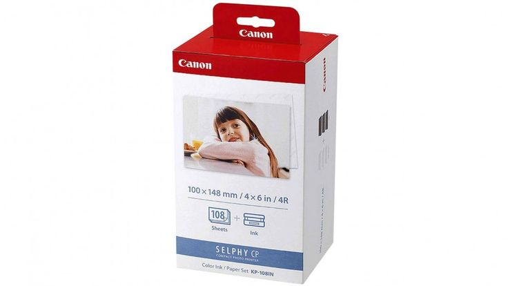 Canon KP-108IN Postcard Size Paper and Ink Pack