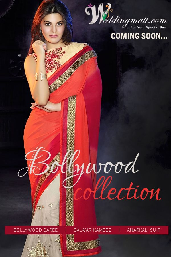 Get Bollywood Collection ‪#‎WeddingMatt‬ ‪#‎WeddingCollection‬ ‪#‎DesignerSaree‬ Coming Soon:- www.weddingmatt.com