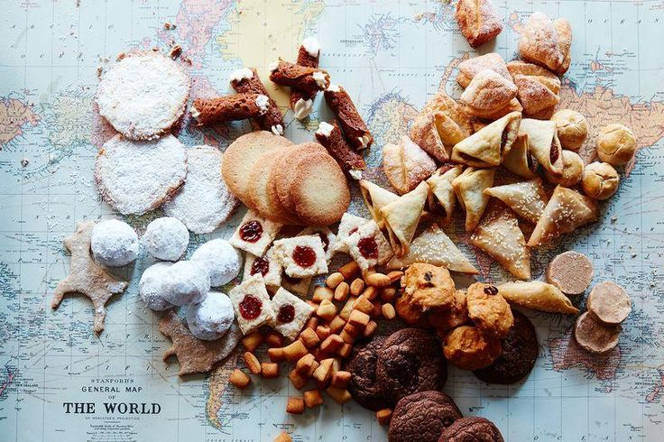 Travel around the world with 46 cookie recipes (it's cheaper than airfare)! #holiday #Food52